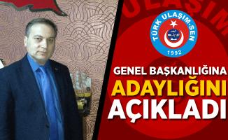 Nurullah Albayrak Türk Ulaşım-Sen Genel Başkanlığına adaylığını açıkladı