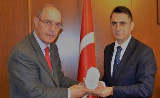 TCDD Emekliler Derneği'nden Koçbay'a ziyaret