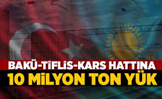 Bakü-Tiflis-Kars hattına 10 milyon yük sözü