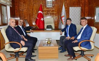 Başkan Aydın'dan, TÜDEMSAŞ Genel Müdürü'ne Hayırlı Olsun Ziyareti