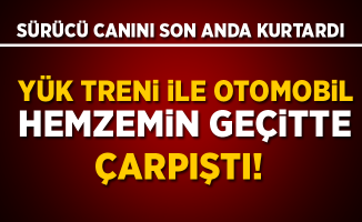Burdur'da hemzemin geçitte kaza! 1 Yaralı