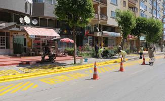 Eskişehir'de duraklar işaretleniyor