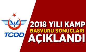 TCDD 2018 Kamp Başvuru Sonuçları Açıklandı