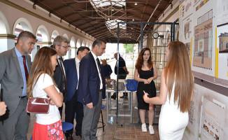 Üniversitesi Öğrencileri, Alsancak Garı'nın Maketini Yaptı