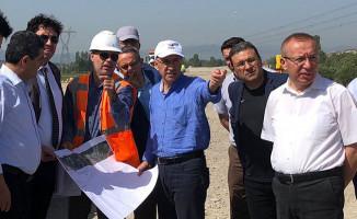 Apaydın, Ankara-İzmir YHT Hattında İncelemelerde Bulundu