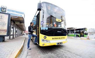 Batman Belediyesi'nden 135 bin kişiye ücretsiz ulaşım