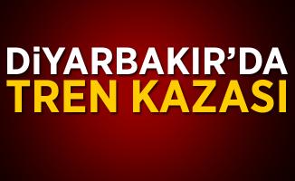 Diyarbakır'da Tren Kazası! Çok sayıda vagon devrildi