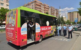 Diyarbakır`da Toplu Taşıma Araçlarında Klima Denetimleri Yapılıyor