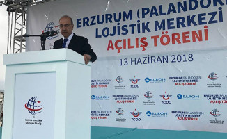 Erzurum Lojistik Merkezi Açıldı
