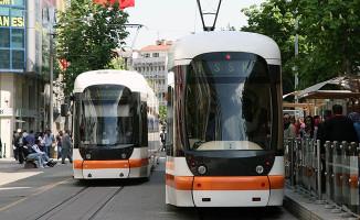 Eskişehir'de tramvay seferleri belli bir süre durdurulacak