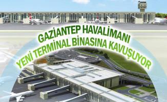 Gaziantep Havalimanı'na Yeni Terminal Binası