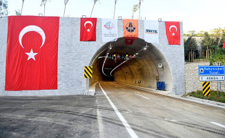 İzmir-Manisa artık daha yakın! İki kenti yakınlaştıran Sabuncubeli Tüneli Açıldı