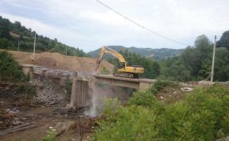Kocaeli Belediyesi, Mamuriye ve Siretiye Köy Yoluna Köprü Yapımına Başladı
