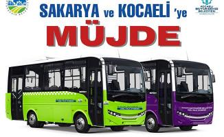 Kocaeli-Sakarya Otobüs Seferleri 2 Temmuz'da Başlıyor