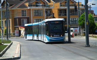 Sekapark-Plaj Yolu Tramvay Hattı'nda İlk Raylar Konuluyor