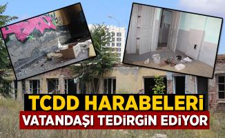 TCDD Harabeleri Vatandaşı Rahatsız Ediyor