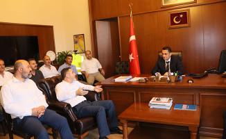 Cankesen, İzmir'deki İşyerlerini Ziyaret Etti