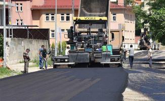 Giresun'da asfalt çalışmaları tam gaz devam ediyor
