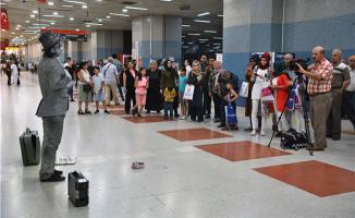 Kızılay Metro İstasyonundaki Sanat Durağına İlgi Büyük