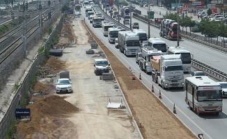 Kocaeli'de toplu taşıma araçları için ilave şerit oluşuyor