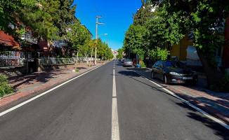 Malatya'da 4 Caddenin Asfaltı Yenilendi