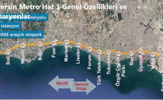Mersin Metro Projesi'nin Detayları!