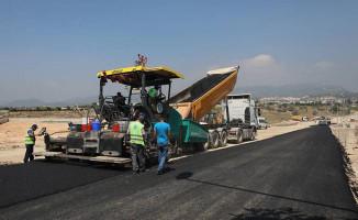 Otogar-Otoban Bağlantı Yolu'nda Asfalt Çalışmaları Başladı