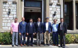 Rektör Köse'den, Bölge Müdürü Koçbay'a Ziyaret