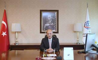Ulaştırma ve Altyapı Bakanı Cahit Turhan'dan ilk mesaj