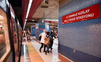 Ankara'da Metro Çalışanlarına Hizmet İçi Eğitim
