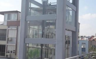 Antalya'da Engelliler İçin Üst Geçitlere Asansör Çözümü