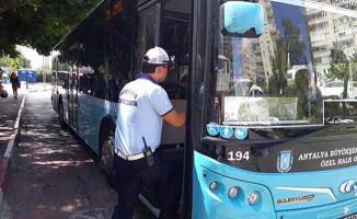 Antalya'da Toplu Taşıma Araçlarında Klima Denetimi