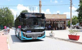 Antalya'da Toplu Ulaşıma Konfor ve Rahatlık Getiren Yeni Uygulamalar
