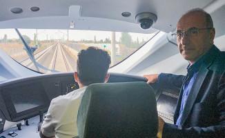 Apaydın Konya Karaman Hızlı Demiryolu Hattını İnceledi