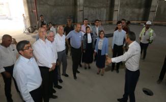 Başkan Şahin, Milletvekillerine Hizmetlerini Anlattı