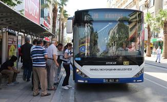 Denizli'de Tolu Taşıma Bayramın İlk 2 Günü Ücretsiz