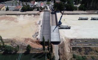 Gaziray Projesi Kapsamında Yıkılan Köprüde Sona Gelindi