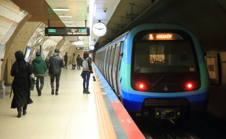 İstanbul'da Metro Sefer Saatlerine Maç Ayarı
