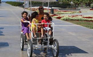 İstanbullu Aile Bisikletini Beğendi