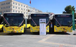 Kayseri'de CNG Yakıtlı 10 Yeni Otobüs Hizmete Başladı