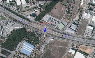 Sancaktepe Tem Otoyolu'nda Yeni Yan Yollar Yapılıyor