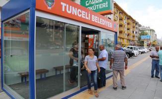 Tunceli'de Modern Klimalı Duraklar Hizmete Açıldı