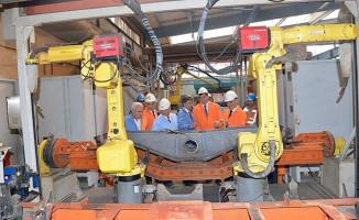 Azerbaycan Demiryolları TÜDEMSAŞ'ın Ürettiği Yeni Nesil Ürünleri İnceledi