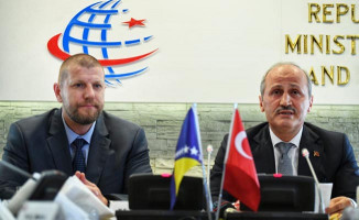 """Bakan Turhan: """"Belgrad-Saraybosna Otoyolu Projesi'ne Büyük Önem Veriyoruz"""""""