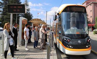 Eskişehir'de Yeni Skoda Marka Tramvaylar Hizmete Başladı