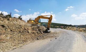 Manisa Büyükşehir'den Gördes'te viraj düzenlemesi
