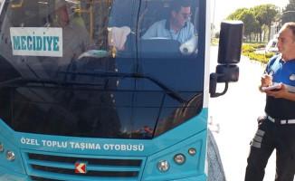 Manisa'da Kaliteli Ulaşım İçin Sıkı Denetim