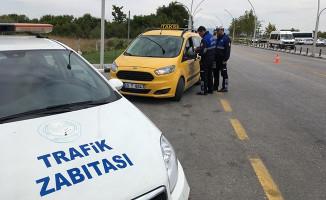 Manisa'da Taksiler Denetim Altında