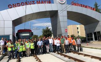 Samsun'da Raylı Sistemlere 120 Milyonluk Yatırım