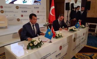 TCDD Taşımacılık ile Kazakistan Demiryolları Arasında Stratejik İşbirliği Anlaşması İmzalandı